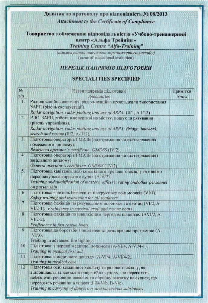 протокол-додаток 2013